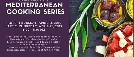 Healthy Mediterranean Cooking Series Part 2