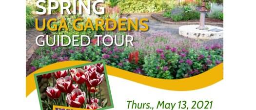 UGA Spring Gardens guided tour