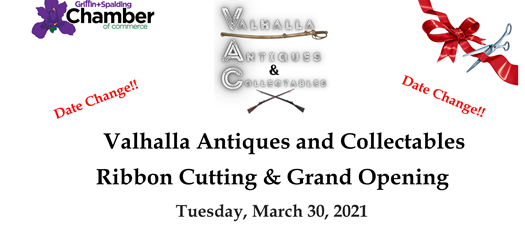 Ribbon Cutting - Valhalla Antiques & Collectables