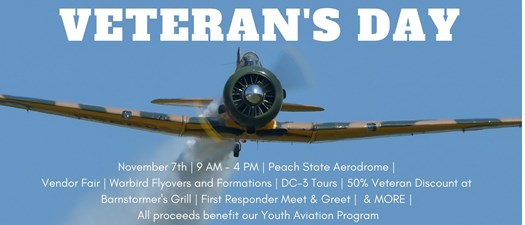 Veteran's Day at Barnstormers
