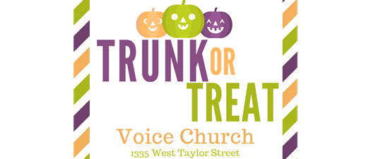 Voice Church Trunk or Treat