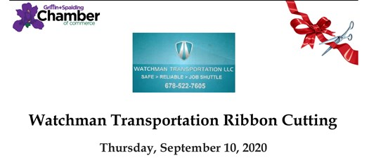 Ribbon Cutting - Watchmen Transportation