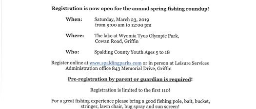 Free Fishing Roundup