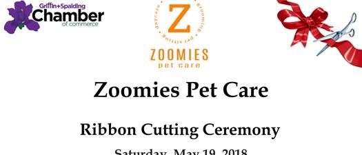 Zoomies Pet Care Ribbon Cutting