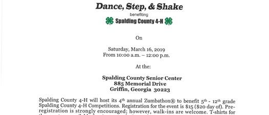 Spalding County 4H Zumbathon