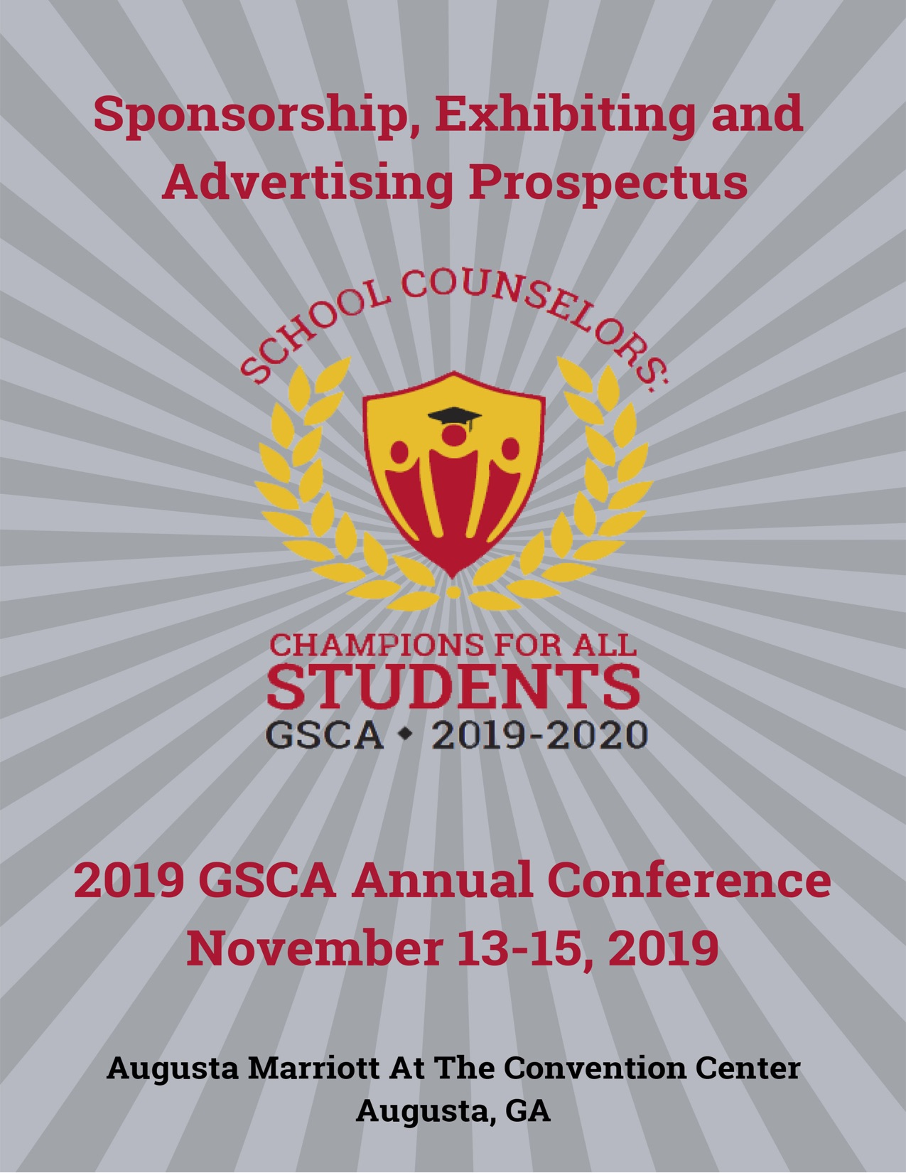 GSCA 2019 Sponsorship Exhibiting Advertising - Georgia School