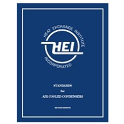 STANDARDS FOR AIR COOLED CONDENSERS, 2ND EDITION (HEI-3087)