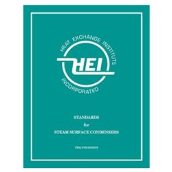(HEI-2629) book - STANDARDS FOR STEAM SURFACE CONDENSERS, 12TH EDITION