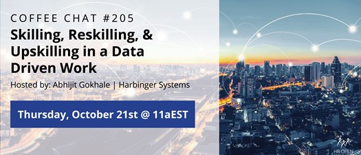 Coffee Chat #205: Skilling, Reskilling, and Upskilling in Data-Driven Work