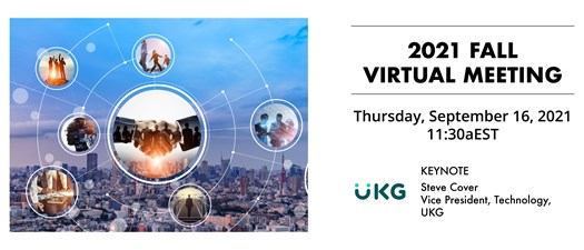 2021 Fall Virtual Meeting