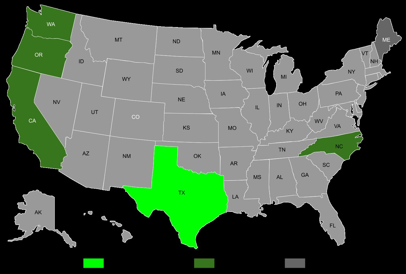 EDI Medical Implementation Map