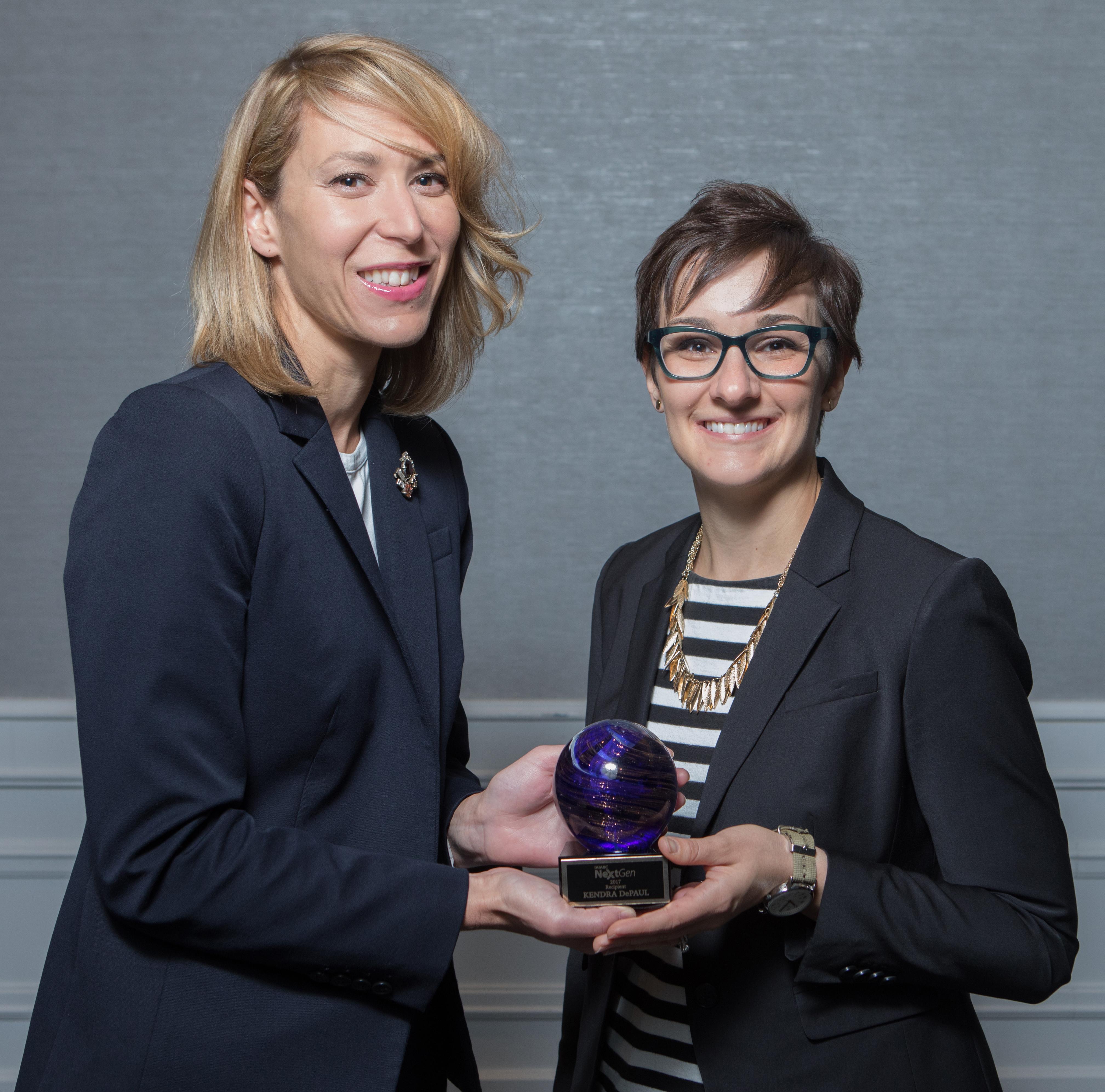 Kendra DePaul, 2017 NextGen Award Winner