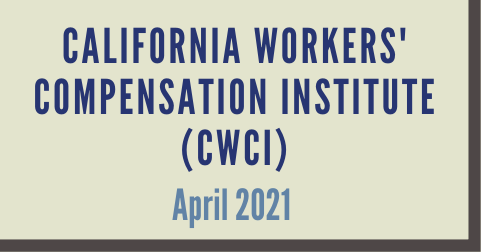 California Workers' Compensation Institute (CWCI)