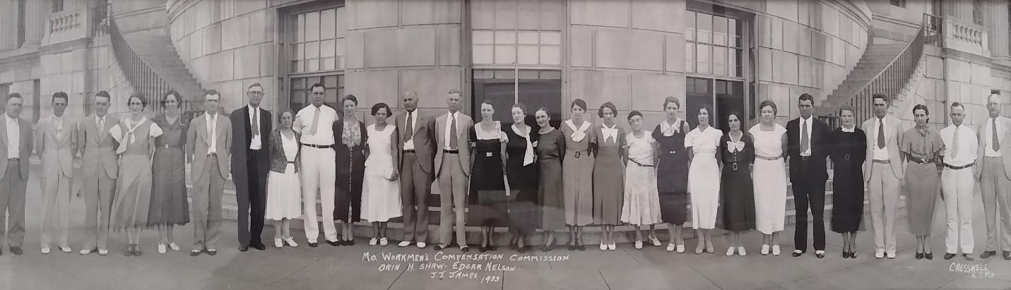 Missouri's 1933 Workmens' Compensation Commission
