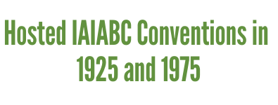 Hosted IAIABC Conventions in 1925 and 1975