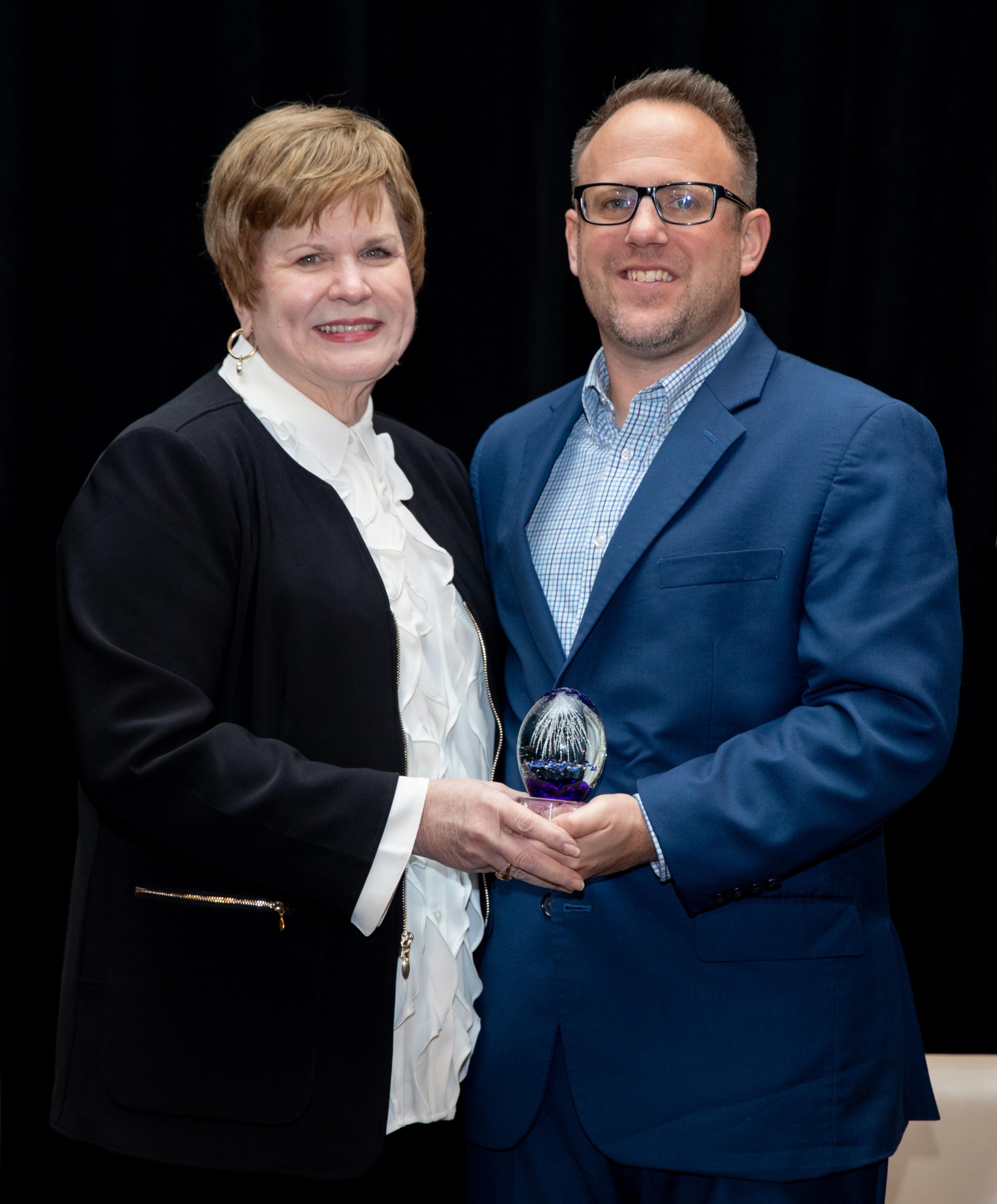 Derek West, 2019 NextGen Award Winner