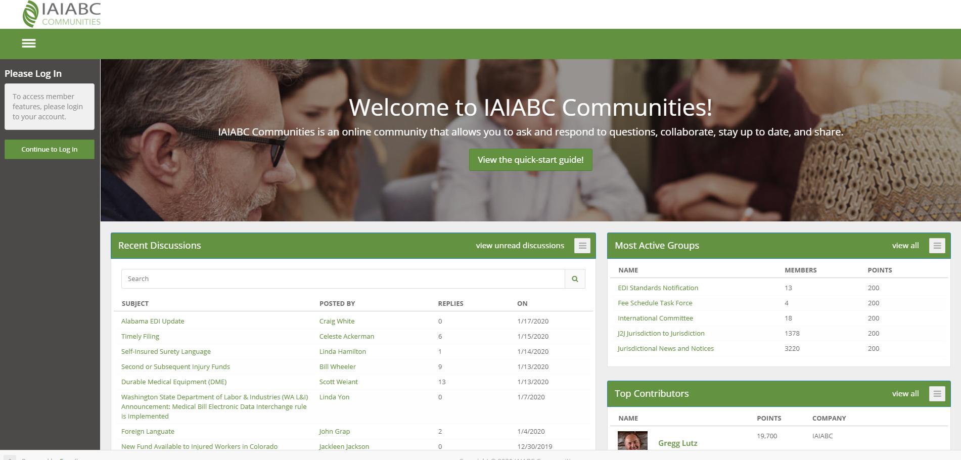 IAIABC Community