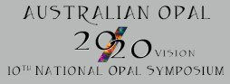 Australian 10th National Opal Symposium