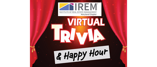 IREM MD Virtual Trivia Happy Hour To Support Local Covid-19 Relief Efforts