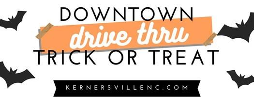 Drive-Thru Downtown Trick or Treat