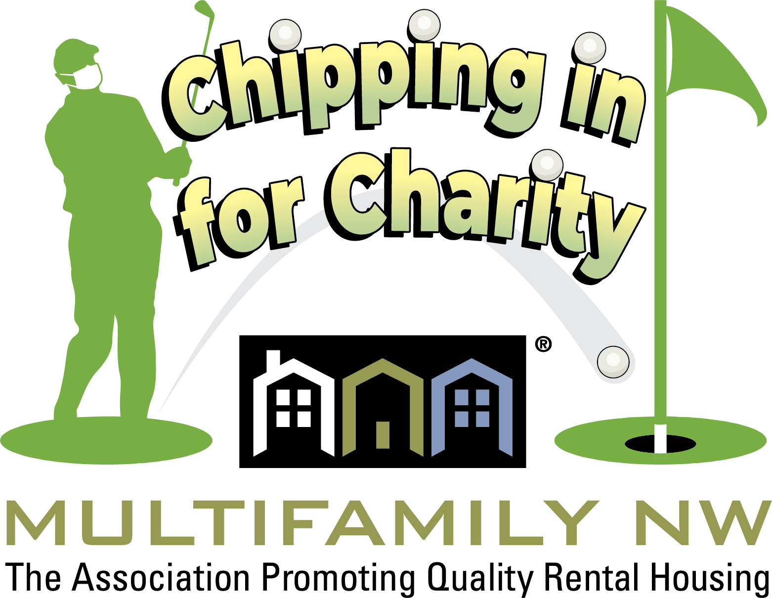 Chipping In for Charity logo