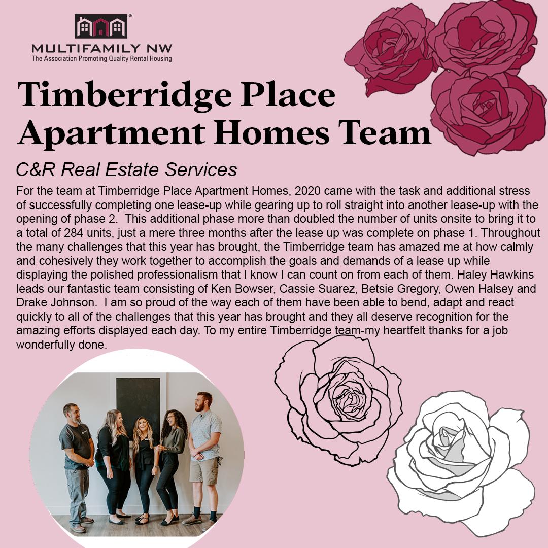 Timberridge Place Apartment Homes Team