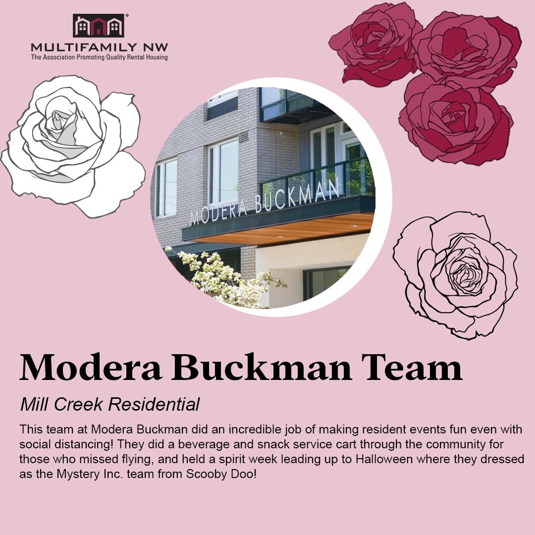 Modera Buckman Team