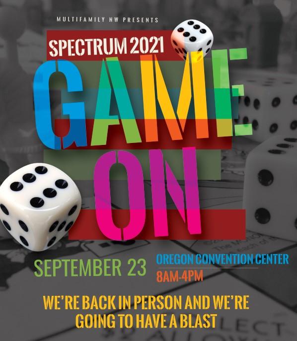spectrum game on flyer