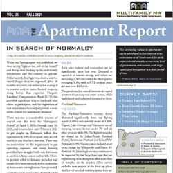 Fall 2021 Apartment Report