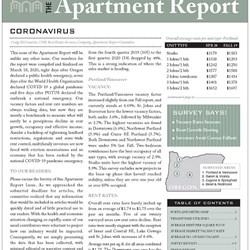 Spring 2020 Apartment Report