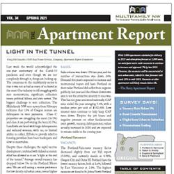 Spring 2021 Apartment Report