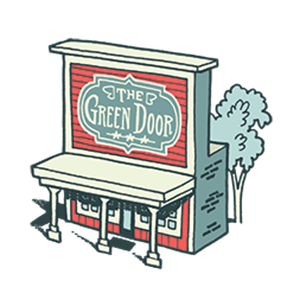 Photo of The Green Door Book Store & Gift Shoppe