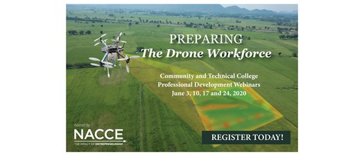 Preparing the Drone Workforce Professional Development Webinars