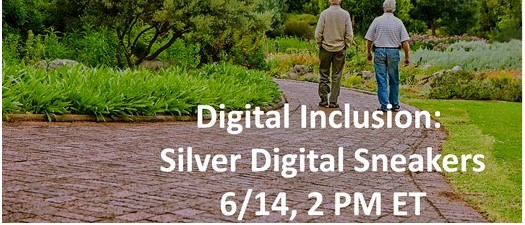 eNATOA: Digital Inclusion – Silver Digital Sneakers