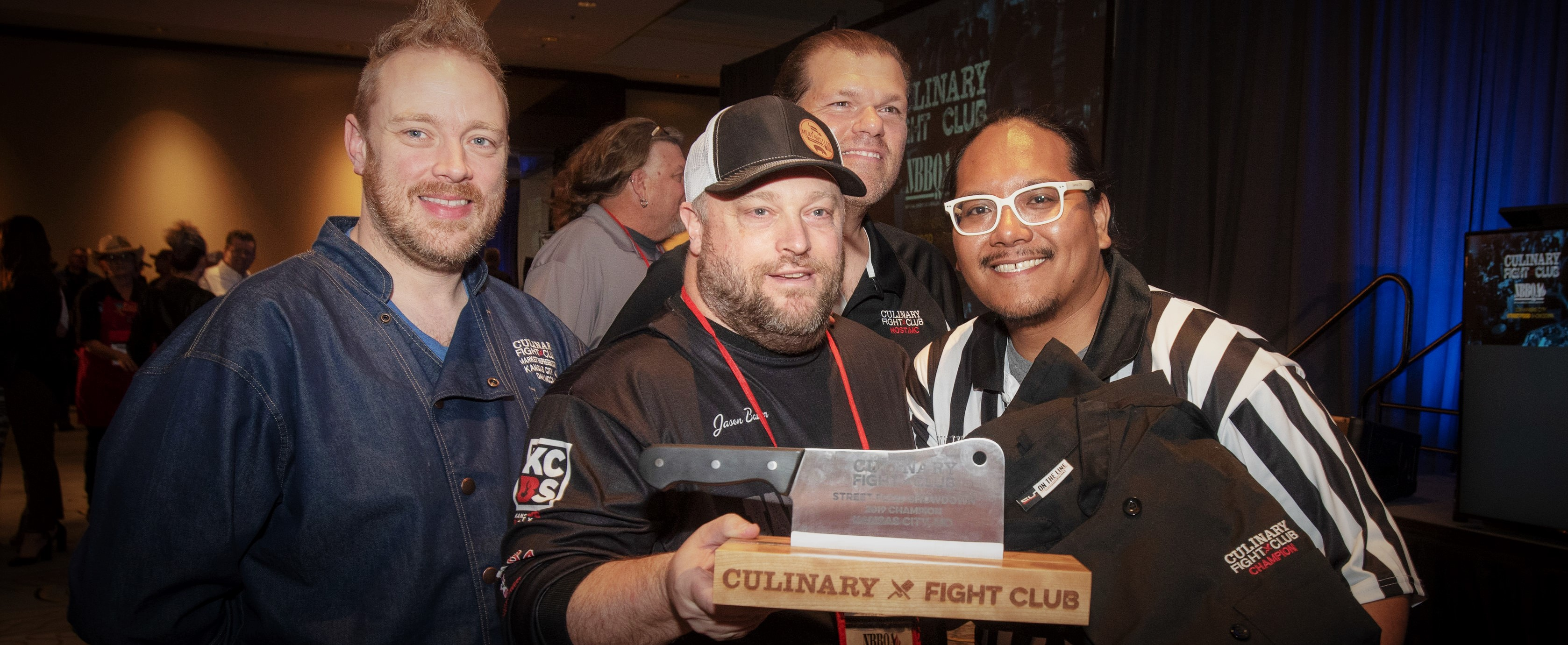 2019 NBBQA Culinary Fight Club Champion Bason Bauer