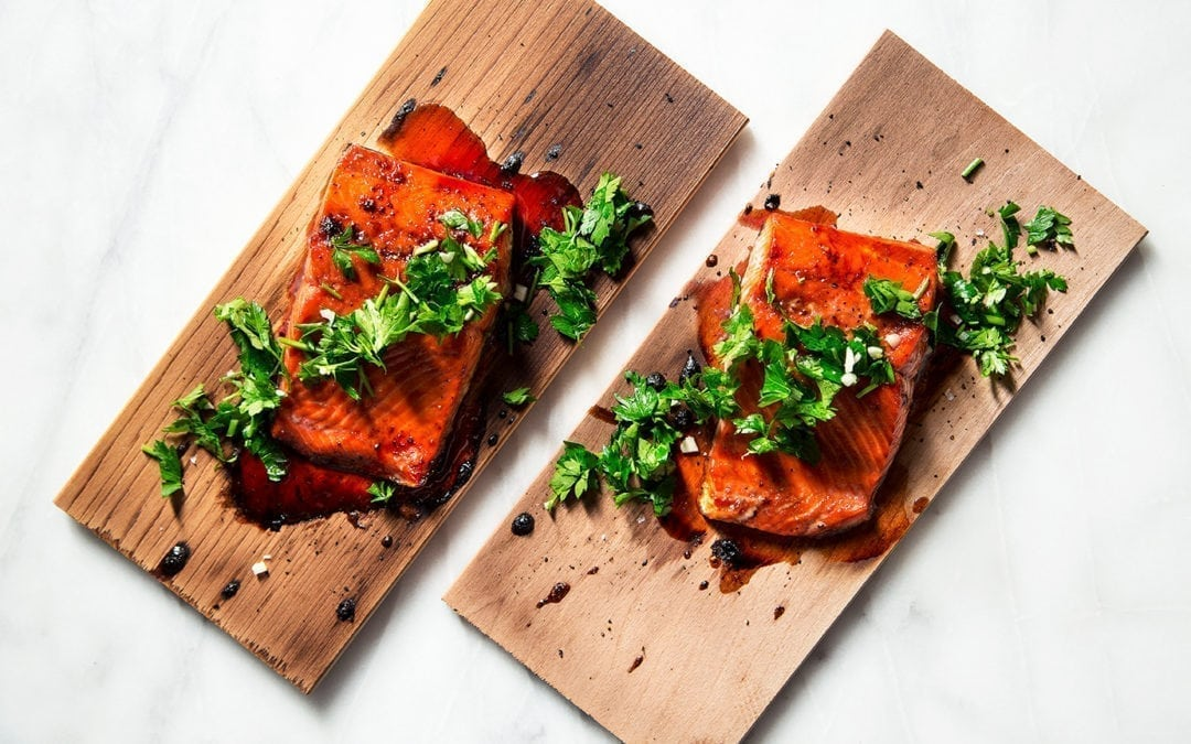 Wildwood Grilling Plank Salmon