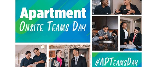 Apartment Onsite Teams Day!