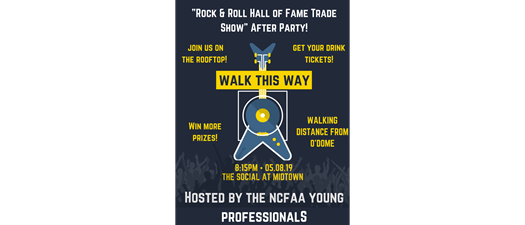 """Rock & Roll Hall of Fame Trade Show"" After Party!"