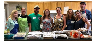 Cook for the Homeless with the NCFAA Young Professionals!