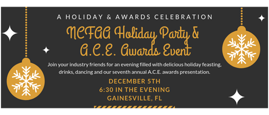 Annual Holiday Party & A.C.E. Awards Event