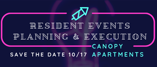 Resident Events Planning & Execution