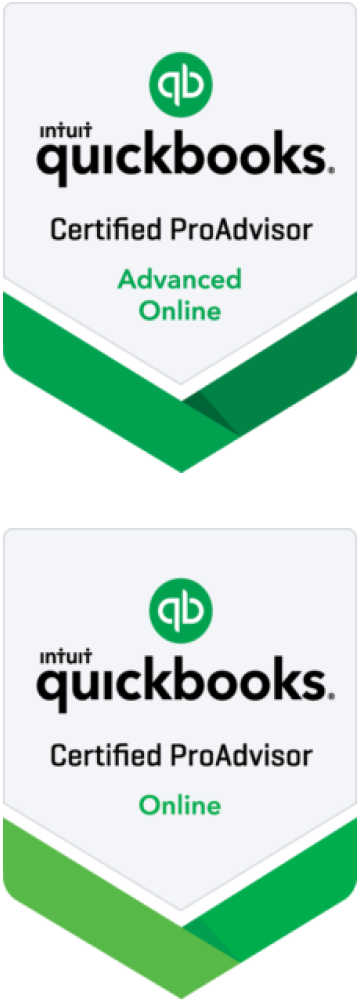 QuickBooks Certified ProAdviser Online and Advanced Online Certificates