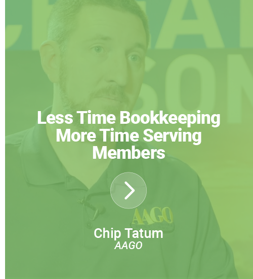 Less Time Bookkeeping, More Time Serving Members