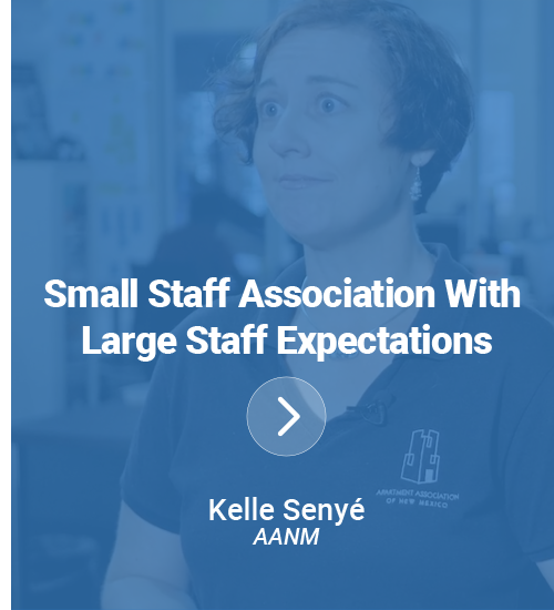 Small Staff Association With Large Staff Expectations