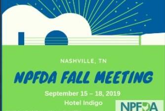 2019 NPFDA Fall Meeting