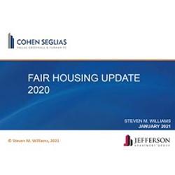 Recorded Fair Housing Seminar