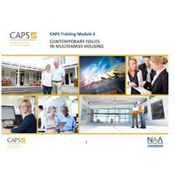 Recorded CAPS Module 6 Contemporary Issues in Multifamily Housing