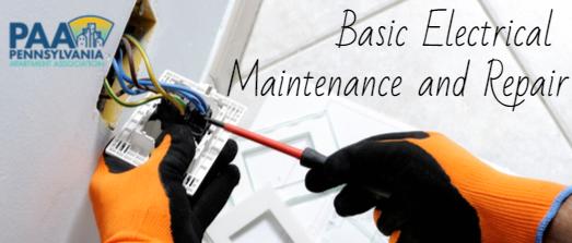 Basic Electrical Maintenance and Repair