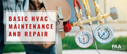 Basic HVAC Maintenance and Repair