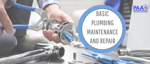 Basic Plumbing Maintenance and Repair